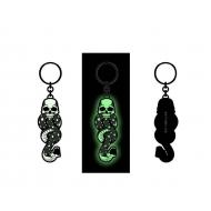 Harry Potter - Porte-clés métal Dark Mark Tattoo Glow in the Dark