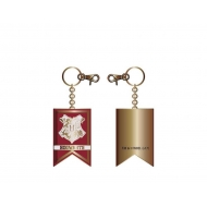 Harry Potter - Porte-clés métal Hogwarts Banner
