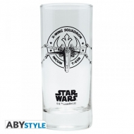 STAR WARS - Verre X-Wing