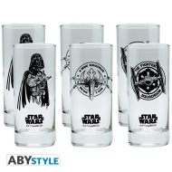 Star Wars - Assortiment de 6 verres Star Wars