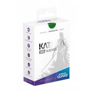 Ultimate Guard - Pack 100 pochettes Katana Sleeves taille standard Vert