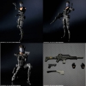 RESIDENT EVIL - Play Arts [Kai] Operation Raccoon Lupo