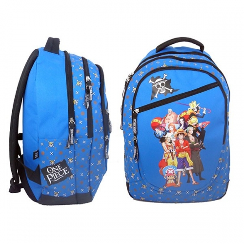 ONE PIECE - Sac à Dos 3 compartiments