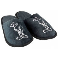 Looney Tunes - Chaussons Tweety Black Heart (S)