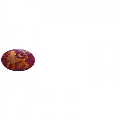 GAME OF THRONES - Réplique Broche Bouclier Lannister 5.5cm