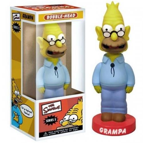 Figurine Simpsons - Bobble Head - GrandPa