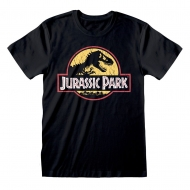 Jurassic Park - T-Shirt Original Logo Distressed