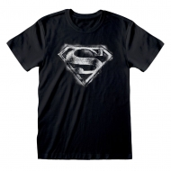 DC Superman - T-Shirt Distressed Mono Logo