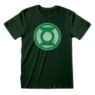 DC Comics - T-Shirt Distressed Logo DC Green Lantern