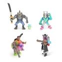 Fortnite Battle Royale - Pack 4 figurines Collection série 2 5 cm