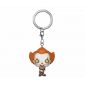 « Il » est revenu 2 - Porte-clés Pocket POP! Pennywise w/ Beaver Hat 4 cm