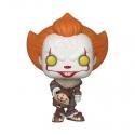 « Il » est revenu 2 - Figurine POP! Pennywise (Beaver Hat) 9 cm