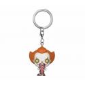 « Il » est revenu 2 - Porte-clés Pocket POP! Pennywise w/ Dog Tongue 4 cm