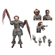 « Il » est revenu 2017 - Figurine Ultimate Pennywise (Dancing Clown) 18 cm