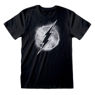 DC Comics - T-Shirt DC FlashDistressed Mono Logo