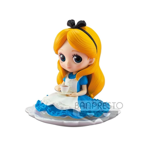 Disney - Figurine Q Posket SUGIRLY Alice Normal Color Ver. 9 cm