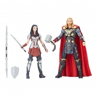 Thor : Un monde obscur - Pack 2 figurines Marvel Legends Series Thor & Sif 15 cm