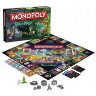 Rick et Morty - Jeu de plateau Monopoly Francais