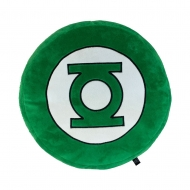 DC Comics - Coussin peluche Green Lantern Logo 35 x 35 cm