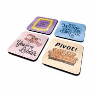 Friends - Pack 4 sous-verres Quotes