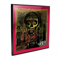 Slayer - Décoration murale Crystal Clear Picture Seasons in the Abyss 32 x 32 cm