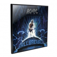 AC/DC - Décoration murale Crystal Clear Picture Ball Breaker 32 x 32 cm