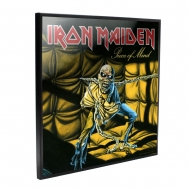 Iron Maiden - Décoration murale Crystal Clear Picture Piece of Mind 32 x 32 cm
