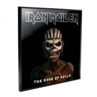 Iron Maiden - Décoration murale Crystal Clear Picture Book of Souls 32 x 32 cm