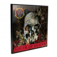 Slayer - Décoration murale Crystal Clear Picture South of Heaven 32 x 32 cm