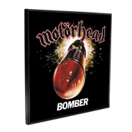 Motörhead - Décoration murale Crystal Clear Picture Bomber 32 x 32 cm