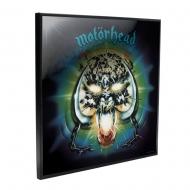 Motörhead - Décoration murale Crystal Clear Picture Overkill 32 x 32 cm