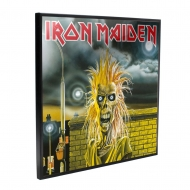Iron Maiden - Décoration murale Crystal Clear Picture 32 x 32 cm