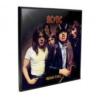 AC/DC - Décoration murale Crystal Clear Picture Highway to Hell 32 x 32 cm
