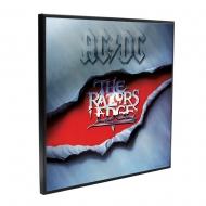AC/DC - Décoration murale Crystal Clear Picture The Razors Edge 32 x 32 cm