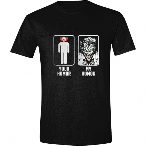 DC Comics - T-Shirt Joker My Humour