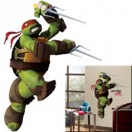 Tortues Ninja - Stickers géant repositionnable Raphael