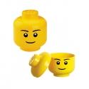 Lego - Petite tête de rangement garçon