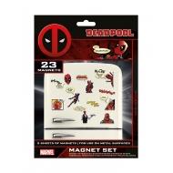 Deadpool - Pack 23 aimants Comic