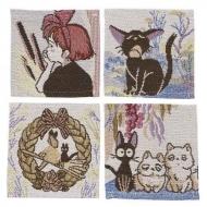 Kiki la petite sorcière - Pack 4 sous-verres Characters