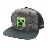 Minecraft - Casquette Snapback Creeper Inside