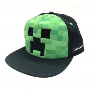 Minecraft - Casquette Snapback Creeper Face