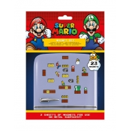 Super Mario - Pack aimants Mushroom Kingdom