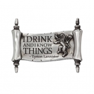 Game of Thrones - Aimant I Drink And I Know Things