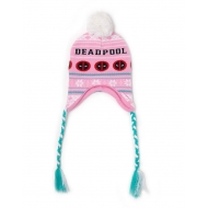 Marvel - Bonnet de ski Deadpool Pink Xmas Laplander