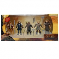 THE HOBBIT - Pack de 5 Figurines articulées (9 cm)