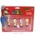 NINTENDO - Pack Toad : 4 Mini Figurines