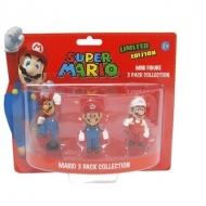 NINTENDO - Pack Mario : 3 Mini Figurines