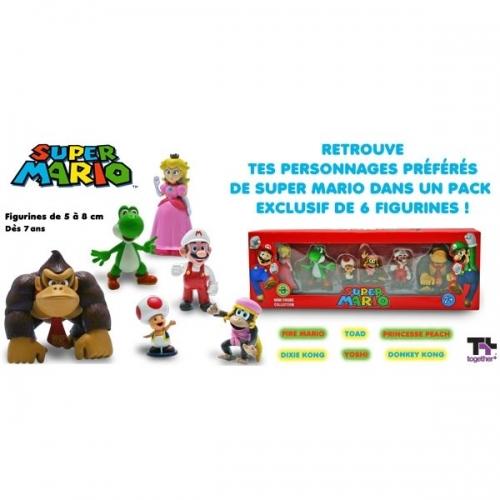 NINTENDO - Pack de six figurines Nintendo Wave 3