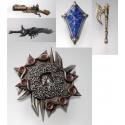 Final Fantasy XII - Play Arts Arms (Set de 5 armes)