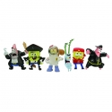 Bob l\'eponge - Set de 6 mini Figurines - Serie 2